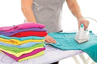 planchando ropa