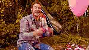 Chris Pratt riendo