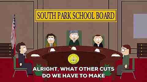 escena de south park